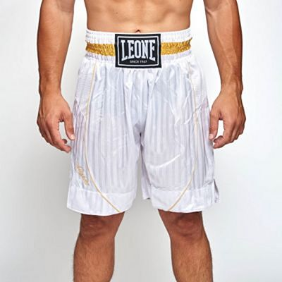 Leone 1947 Premium Boxing Shorts White