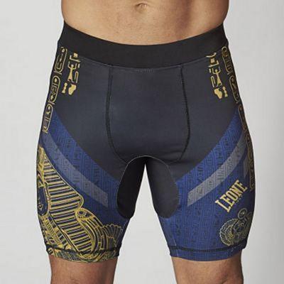 Leone 1947 Ramses Compression Shorts Black-Blue