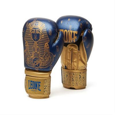Leone 1947 Ramses Women Boxing Gloves Blau-Gold