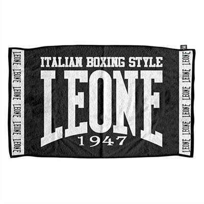 Leone 1947 Ring Terry Towel Black-Grey