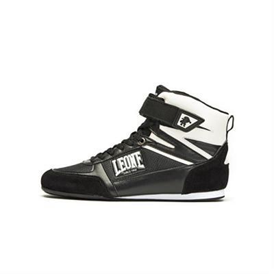 Leone 1947 Shadow Boxing Boots Negro-Blanco
