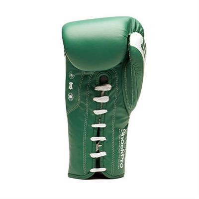 Leone 1947 Shock Pro Laces Boxing Gloves Green