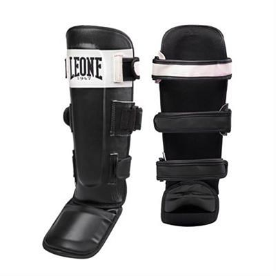 Leone 1947 Shock Shinguards Schwarz