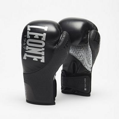 Leone 1947 Texture Boxing Gloves Black