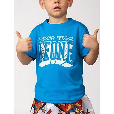 Leone 1947 Toon's Team Kids T-shirt Blue