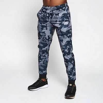 Leone 1947 Trousers Camo Grey