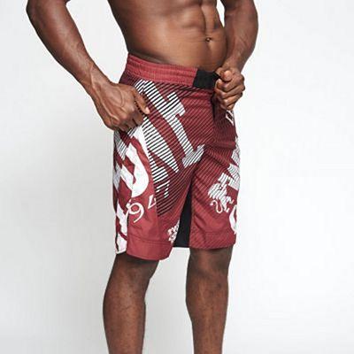 Leone 1947 WACS MMA Shorts Red