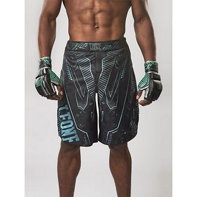 Leone Boxing Cyborg Fightshorts Black