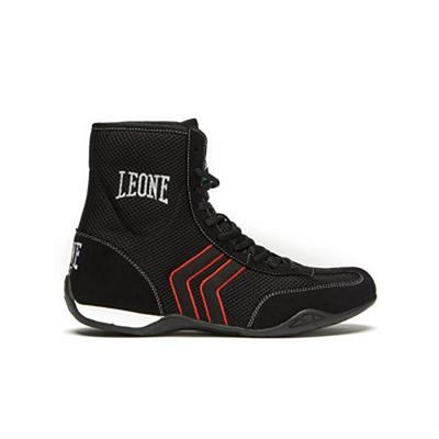 Leone Boxing Hermes Boxing Boots Black