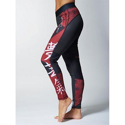 Leone Boxing Kitsune Tights Leggings Negro