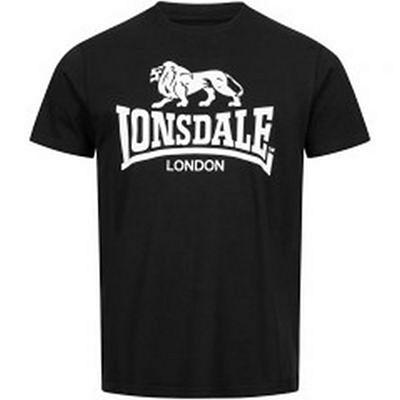 Lonsdale Logo Gots Men T-shirt Black