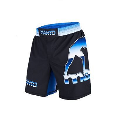 ManTo Chrome Fight Shorts Noir