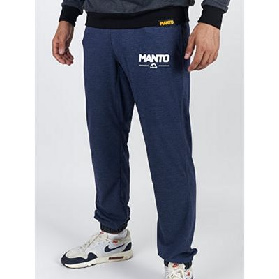ManTo Combo Light Sweatpants Denim Bleu