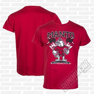 ManTo Eagle T-shirt Rojo