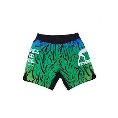 Manto Fight Shorts CHOKES AND MORE Green