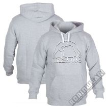 ManTo Hoodie Outline Grey