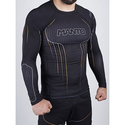 Manto Icon Rashguard Long Sleeve Negro