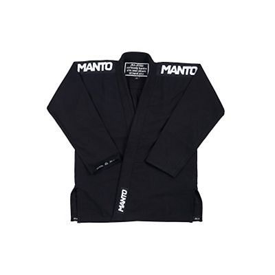 ManTo Kills BJJ Gi Svart
