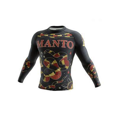 Manto Long Sleeve Rashguard CORAL Noir