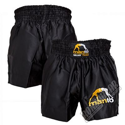 ManTo Muay Thai Logo Black