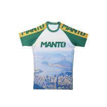 ManTo Rashguard Rio S/S Grün-Gelb
