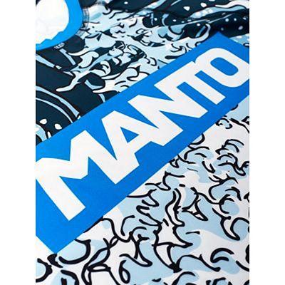 ManTo Rashguard Waves 2.0 S/S Blanco-Azul