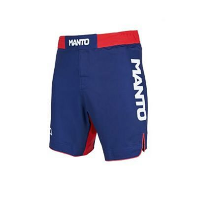 Manto Stripe Fight Shorts Navy Blue