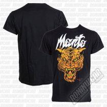 ManTo Tiger T-Shirt Negro