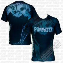 ManTo Wrestlers Rashguard Negro