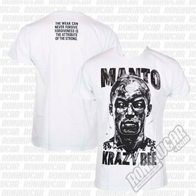ManTo X Krazy Bee T-shirt Blanco