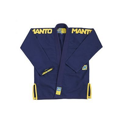 Manto X3 BJJ Gi Navy Blue-Yellow