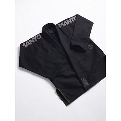 ManTo X3 BJJ GI V1 Black-Grey