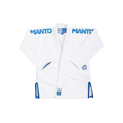 ManTo X3 BJJ Gi White-Blue
