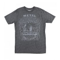 Metal Mulisha Sap Heather Tee Szürke