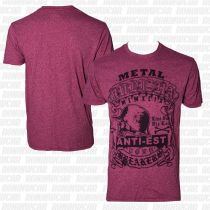 Metal Mulisha Sap Tee Burgundy