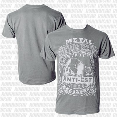 Metal Mulisha Sap Tee Cinza