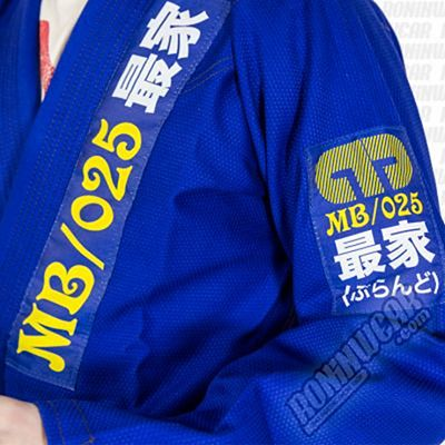 Moya Brand Kasual Drift Kimono Blau