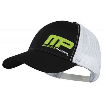Muscle Pharm MPHAT457 Contrast Snap Back Cap Negro-Blanco