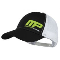 Muscle Pharm Contrast Snap Back Cap Nero-Bianco