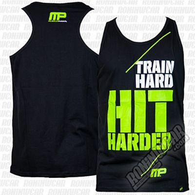 Muscle Pharm Hit Hard Vest Black