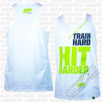 Muscle Pharm MPVST438 Hit Hard Vest Blanco