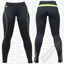 Muscle Pharm Ladies Leggings Preto-Verde