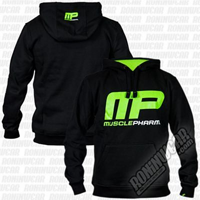 Muscle Pharm MPSWT448 Logo Pullover Hoodie Negro