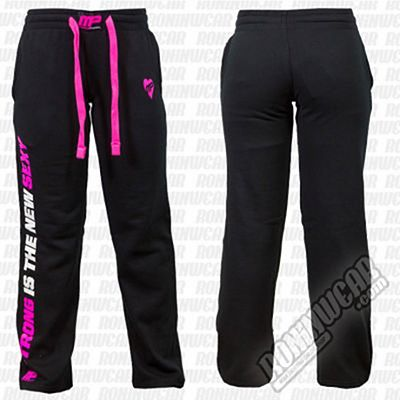 Muscle Pharm MPLPNT 453 Jogger Ladies Schwarz-Rosa