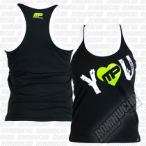 Muscle Pharm MPLVST488 I Heart You Vest Schwarz-Grün