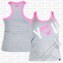 Muscle Pharm MPLVST488 I Heart You Vest Grau