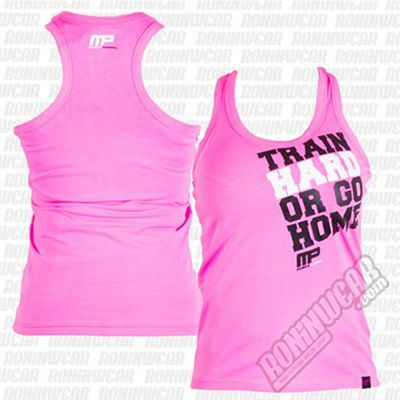 Muscle Pharm MPLVST489 Ladies Printed Vest Rose