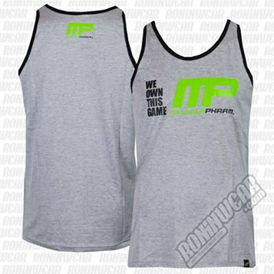 Muscle Pharm MPVST484 We Own This Game Vest Grey