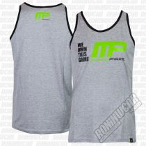 Muscle Pharm MPVST484 We Own This Game Vest Gris