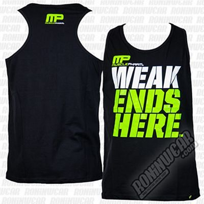 Muscle Pharm Weak Ends Here Vest Black